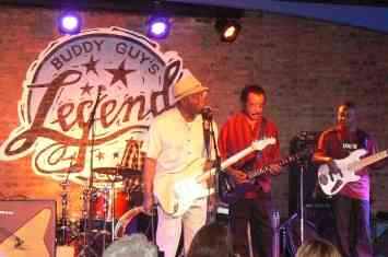 Buddy Guy and Jimmy Johnson at Legends, Thursday
