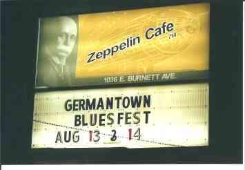 Zeppelin Café Sign