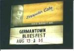 Zeppelin Caf� Sign