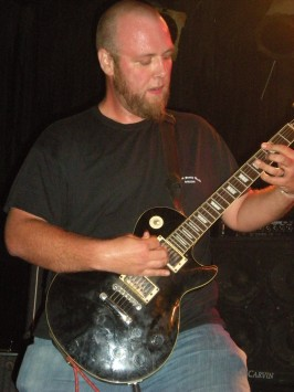 Jim Means, guitarist of Slow Intentional Damage, from Illinois.