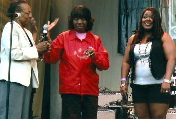 Marie Dixon, Shemekia Copeland and Cookie Threatt, Chicago Blues Fest 2011