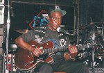 Honey Boy Edwards at Big Heavys. 2nd  BluesCruise, May 18, 1996