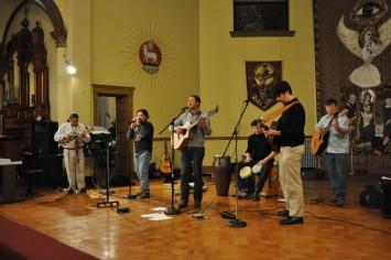Appalatin - l-r: Fernando Moya, Luis de Leon, Marlon Obanodo-Solano, Steve Sizemore, Yanni Vozos, Mario Cardenas