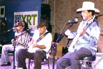 Wayne, Ronnie and Lonnie Brooks - 2011 Chicago Blues Festival - June10, 2011