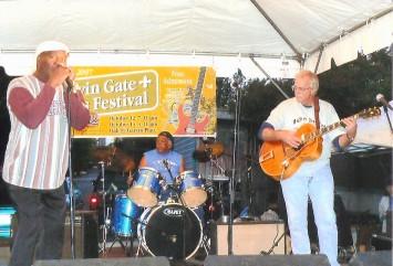 Billy Bird, Sonny Sitgraves, Pen Bogert, 2007 Garvin Gate Blues Festival