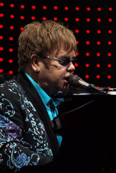 Elton John at Yum! Center