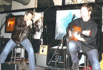 Jimi V and Screamin John at Monkey Wrench,J an.22 2011