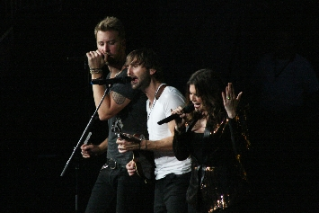 Lady Antebellum at Yum! Center