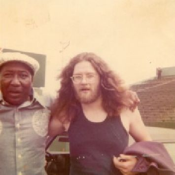 Lamont Gillispie and Muddy Waters